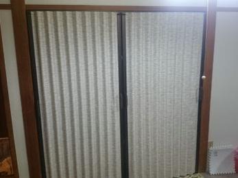 和室の押入れは、襖しか頭なかったです。使い勝手もいいですね!